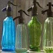 Bottle Of Water Art Print