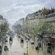 Boulevard Montmartre Art Print