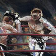 Boxers 1 Art Print