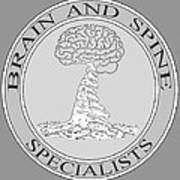 Brain and Spine Specialist Art Print