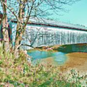Bridge In Montgomery Art Print