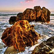 Brighton Beach Wa Print by Imagevixen Photography