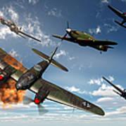 British Hawker Hurricane Aircraft Art Print