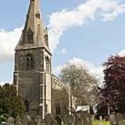 Building Church St Peters North Rauceby Linconshire Art Print