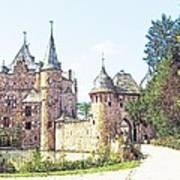Burg Satsvey Germany Art Print
