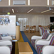 Business Lounge At An Airport Art Print by Jaak Nilson