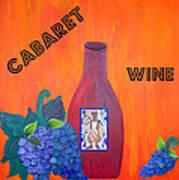 Cabaret Wine Art Print