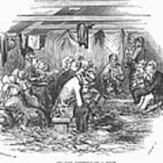 Camp Meeting, 1852 Art Print