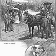Canada: Church, 1883 Art Print