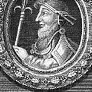 Canute I (c995-1035) Art Print