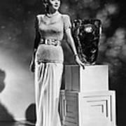 Carole Landis, Ca. 1941 Art Print