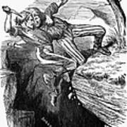 Cartoon: Civil War, 1862 Art Print