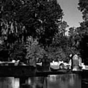 Cemetery Natchez Mississippi Art Print