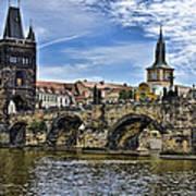 Charles Bridge - Prague Art Print