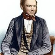 Charles Darwin, British Naturalist Art Print