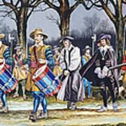 Charles I's Last Walk Art Print