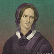 Charlotte Bronte, English Author Art Print