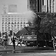 Chicago Marathon Art Print