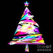 Christmas Tree Design Art Print