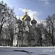 Churches Russia Art Print