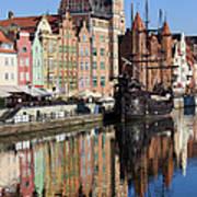 City Of Gdansk Art Print