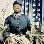 Civil War: Black Soldier Art Print