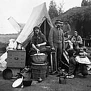 Civil War: Camp Life, 1861 Art Print