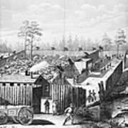 Civil War: Prison, 1864 Art Print