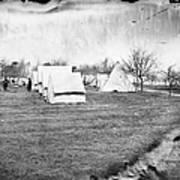 Civil War: Union Camp, 1863 Art Print