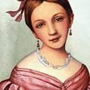 Clara Schumann (1819-1896) Art Print