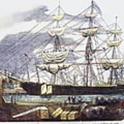 Clipper Ship, 1851 Art Print