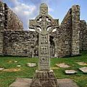 Clonmacnoise, Co. Offaly, Ireland Art Print