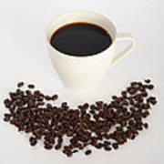 Coffee Print by Photo Researchers, Inc.