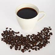 Coffee Art Print by Photo Researchers, Inc.