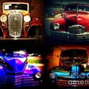 Collector Cars Art Print