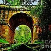 Colonial Era Bridge Art Print