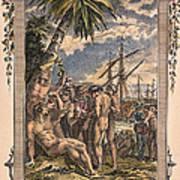 Columbus: Native Americans Art Print