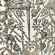 Comet, 1665 Art Print
