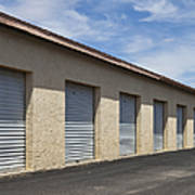 Commercial Storage Facility Art Print by Paul Edmondson