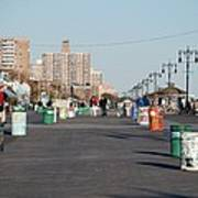 Coney Island Boardwalk Art Print