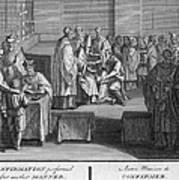 Confirmation, 18th Century Art Print
