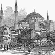 Constantinople: St. Sophia Print by Granger