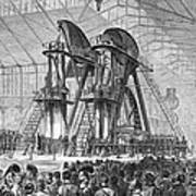Corliss Steam Engine, 1876 Art Print