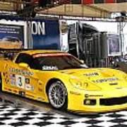 Corvette Racing C5r Art Print