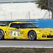 Corvette Racing C6r Art Print