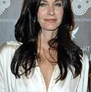 Courteney Cox Arquette At Arrivals Art Print