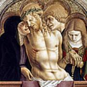 Crivelli: Pieta Art Print