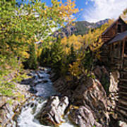 Crystal Mill Art Print