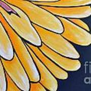 Dahlia Art Print by Holly Donohoe