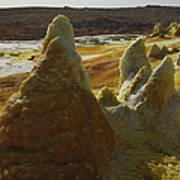 Dallol Geothermal Area, Danakil Art Print